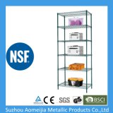 Chrome Metal Wire Shelf Shelving with NSF and SGS Approval