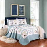 Printed Embossing Quilted Quilts Bedding for Hotel