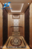 630kg Home Residential Lift and Mirror Hotel Villa Sightseeing Elevator with Small Machine Room