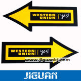 Die-Cut Static Window Decal PVC Vinyl Car Sticker