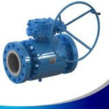 Forged Metal Sealed Seat Trunnion Mounted Ball Valve with Tcc Ball