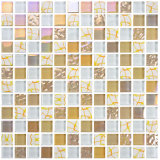 Color Intrigue Crystal Glass Mosaic Ideas Glass Crystal Mosaic