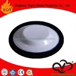 Hot Sale High Quality White Color Enamel Shallow Plate