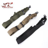 Tactical Gun Sling Single Point Bungee Rifle Airsoft Rope Sling