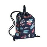 Outdoor Sports Backpack-Printed Polyester String Shoulder Bag