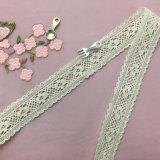 High Quality Fashion Design 3cm Cotton Lace for Garment Decoration