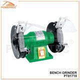 Powertec 120/150W Electric Portable Bench Grinder (PT81719)