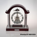 Mantle Skeleton Table Clock with Chime Movement