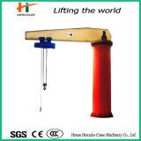 Customerized Electric Hoisting 10ton Pillar Mounted Jib Crane for Loading