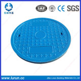 SGS Passed BMC/SMC Plastic Anti-Theft Performance Round Composite Resin Manhole Cover