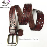 High Quality Real Leather Man′s Cowhide Leather Belt