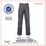 Industrial Functional Cotton Mens Casual Trousers Long Pants
