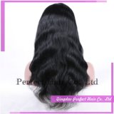 Virgin Remy Human Hair Full Lace Wig with Baby Hair