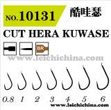 Wholesale Top Quality High Carbon Steel Cut Hera Kuwase Fishing Hook