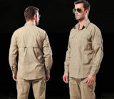 Wholesale Outdoor Long Sleeves Commander Wild Training Clothes Military Men's Shirt