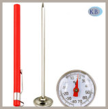 Pen Type Bimetal Thermometer -40+70c Meat Thermometer