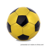 TPU Gold Color Soccer Ball Size 5