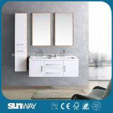 2014 New Modern Melamine Surface Plywood Bathroom Cabinet (SW-1331)