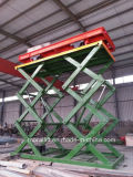 Hydraulic Double Cylinder Cargo Scissor Lift Table
