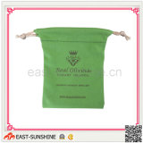 Silk Printing Drawstring Pouch for Jewell Cleaning (DH-M0111)