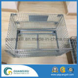 Flat Pack Foldable Steel Storage Container