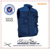 Vest Supplier Sunnytex Winter Men′s Cargo Angler Vest