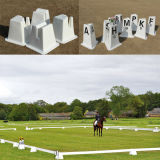 Horse Race Used Dressage Arena Cones