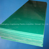 Green UHMW-PE Plate in 100% Virgin Material