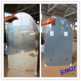 4mm Arch Shaped Silver Mirror Glass for Bathroom Mirror