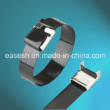 Semi-Coated Wing-Lock Stainless Steel 304/316 Cable Ties