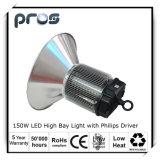 150W LED High Bay Fixture, High Intensity Brightness Luminaire