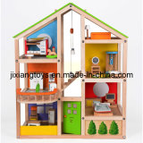 2014 Top New Kids Wooden Doll House (JXT-003)