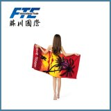 Printed Cotton/Bamboo/Microfiber Promotional Beach/Sports Towel