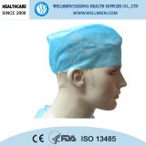 Disposable Nonwoven PP/SMS Surgical Doctor Cap Handmade Medical Cap