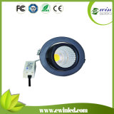 Cut Size 90mm Rotatable LED Downlight at 85 Lm/W