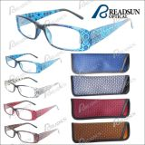 Cheap Fashion Design Reading Glasses Match with Pouch (RP463022)