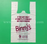 Custom 100% Fully Biodegradable Compostable Shopping Bag, Corn Starch Bag