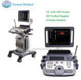 4D Color Elastrographie Doppler Trolley Ultrasound Fetal Doppler USG