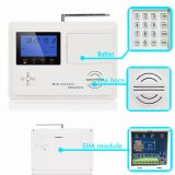 Home Wireless GSM Alarm System CE Approved and Dual Network with Built-in GSM Antenna (KR-5800G)