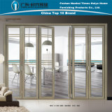 Aluminum/Aluminium Folding Door with Modern Design (model Z-035)