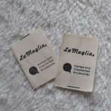 100% Cotton Printing Woven Labels for Apparel Accessories
