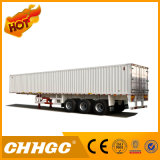 Durable 3 Axle Van Type Bulk Grain Semi-Trailer