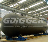Asme Standard BV Certified Horizontal LPG Storage Tank