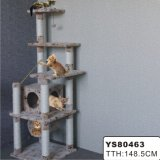 Luxury Cat Tree W/Swing Teaser (YS80463)