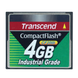 4G Transcend Compactflash Compact Flash Memory CF200I 4GB Industrial Grade CF Card