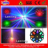 3-in-1 LED Strobe Laser 12 Patterns Mini Rg Laser Light