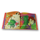 Colourful Hard Cover Art Paper Story Book Printing