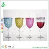 10oz Globet Shape Freeze Wine Tumbler Double Wall with Gel (FB-A15)