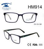 New Arrival Square Shape Glasses Acetate Optical Frame Eyewear (HM914)