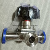 Dn25 Stainless Steel Hygienic T Manual Pneumatic Diaphragm Valves